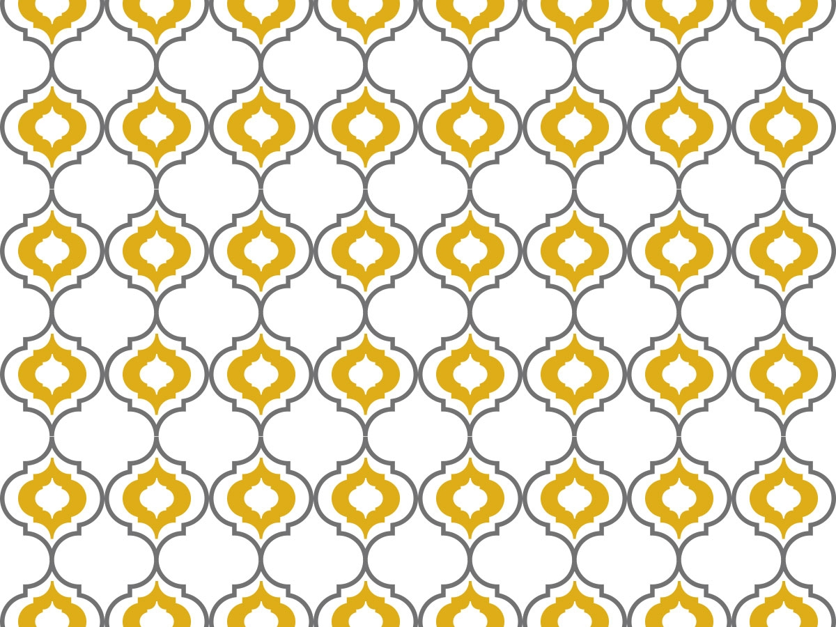 Quatrefoil Textiles Pattern - ASI Wall Solutions